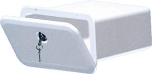 Sportello contenitore con chiave bianco 2523942 60 00 for Serratura porta scorrevole barca