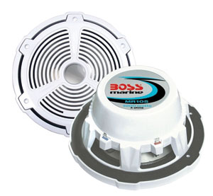 SUB-WOOFER Singolo Boss Marine MR105 1000W