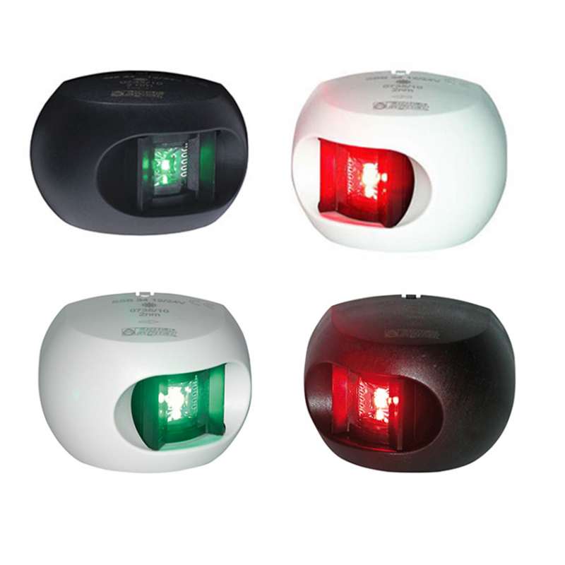 Fanale di Via a Led Serie 34 Colore Nero Led Verde