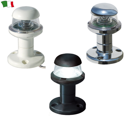 Luce di Fonda LED in ABS Nero con Basetta