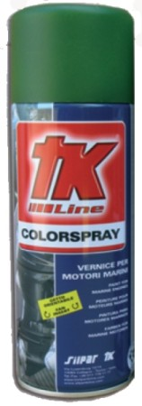 Fondo Protettivo TK Color Spray 400ml Primer Antirust GREEN