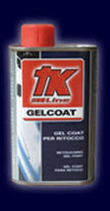 Gel Coat per Ritocco Lattina 250 Ml. Con Attivatore