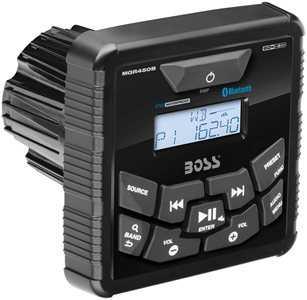 Stereo Quadrato da Cruscotto Boss Marine MGR450B