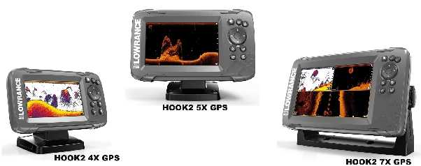 Ecoscandaglio LOWRANCE HOOK2 5X GPS SS Single Shot