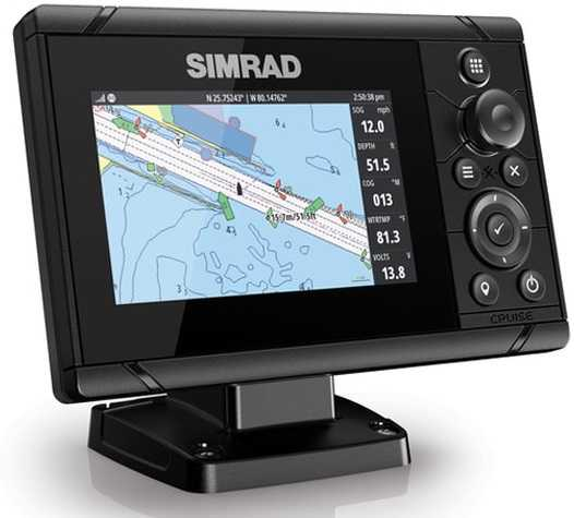 Combinato ECO+GPS SIMRAD CRUISE 5