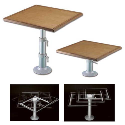 Tavoli Pieghevoli Da Barca.Tavolo Per Barca In Teak Con Slitta A Movimento Orbitale D1780720