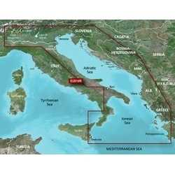Cartografia GARMIN BLUECHART G3 VISION HD Regular Italia Orient.